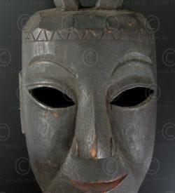 Masque Yao Lantien YA65. Nord du Laos - Chine méridionnale.