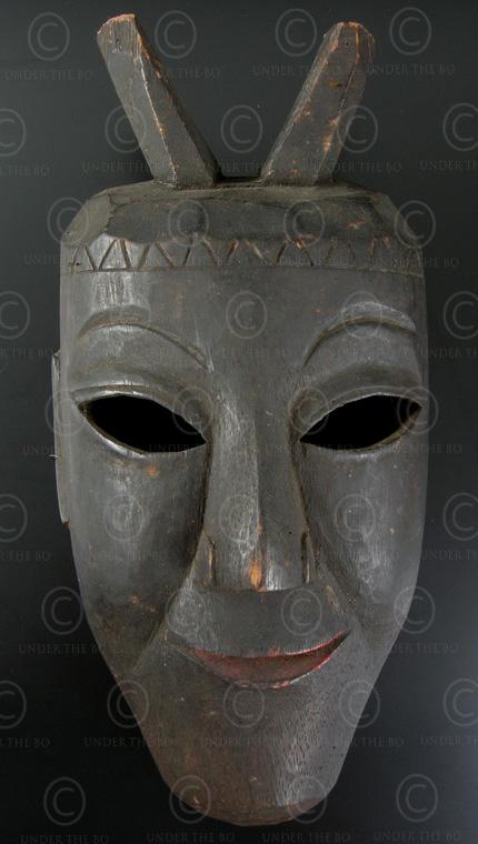 Masque Yao Lantien YA65. Nord du Laos – Chine méridionnale.
