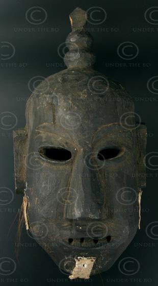 Masque Lantien Yao LT5. Nord Laos - Chine méridionnale