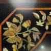 Pietra dura style table top IN10. Inlaid granite, Agra, India