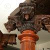 Colonnes indiennes 08MT24. Tamil Nadu, Sud de l'Inde.