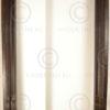 Porte Madras 08MT16C. Chambranle en teck, avec linteau sculpté. Inde du sud.