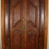 Porte coloniale 08MT4. Sud de l'Inde.