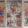 Zhuang painting Set3a. Zhuang minority, Southern China