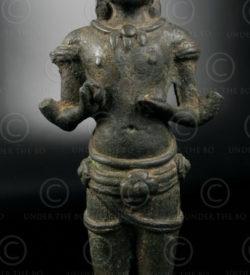 Statue Uma Khmere KM80B, Nord-ouest du Cambodge. Période d'Angkor.