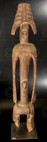 Statue Africaine Mumuye T26. Est du Nigeria.