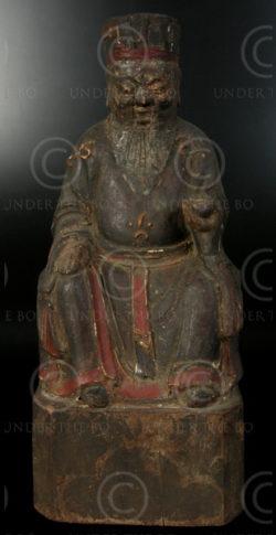 Statue Chinoise YA87D. Minorité Lantien, Chine du sud.
