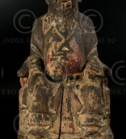 Statue Chinoise YA87F. Minorité de Lantien, Chine du sud.