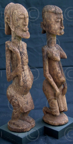 Statues Dogon Y31. Mali.