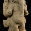 Chola Ganesh 08LN23. Statue of God Ganesh. Granite. Chola period, 11-12th centur