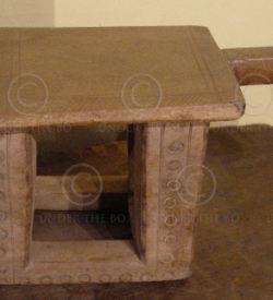 Bambara stool AF16. Bambara tribal culture. Mali. West Africa