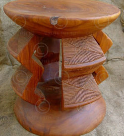 Kusu stool FV2. Under the Bo workshop