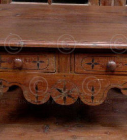 Colonial Coffee Table AH1-98 Dutch colonial India.