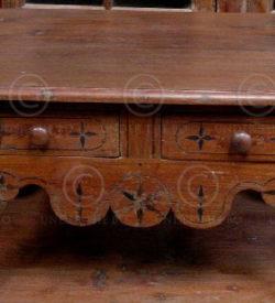 Table coloniale AH1-98. Inde du Sud.