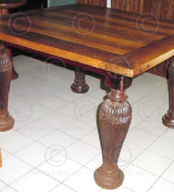 Square Table FV39. Manufactured at Under the Bo workshop, Thailand.