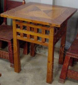 Table Art Nouveau FV23. Atelier Under the Bo.