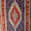 Iran kilim Z115 Cotton and wool kilim, nomadic Senneh tribe of Kurdistan, Iran