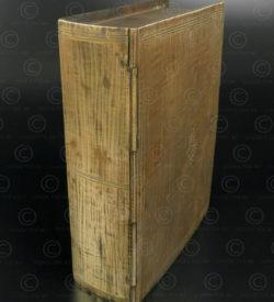 Brass book-box IN645. India.
