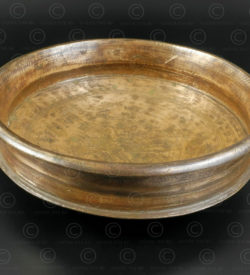 Bronze cooking dish IN516. Kerala state, Southern India.