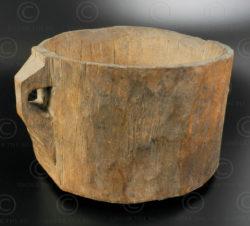 Pot à lait afghan AFG82. Région du Nuristan, est de l'Afghanistan.