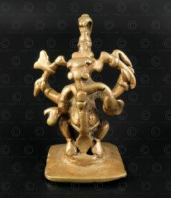 Bronze Ganesh A245A. Maharashtra state, Southern India.