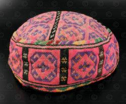 Afghan skull cap PAK48C. Afghanistan.