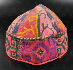 Afghan skull cap PAK48F. Afghanistan.