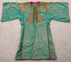 Manteau d'apparat ottoman PAK43. Acquise en Syrie au début des années 1920. 19ème siècle.