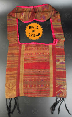 Silk weaving monk bag LA6K. Thailand.