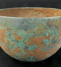 Bol bronze ancien Siam T421. Nord est de la Thaïlande.