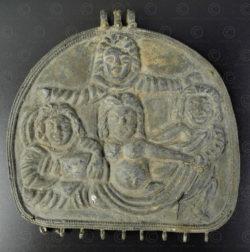 Gandhara silver pendant PK209. Northern Pakistan.