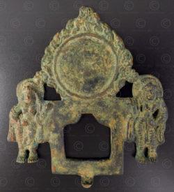 Mandorle bronze Shahiya PK206. Pakistan du nord.