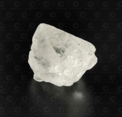Cristal de topaze blanche SW128. Montagnes du nord du Pakistan.