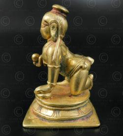Bala Krishna bronze 16N50. Etat du Karnataka, Inde du Sud.