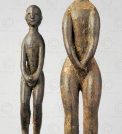 Iban Dayak amulets BO261CD. Iban Dayak tribe, Sarawak or West Kalimantan, Indonesia.