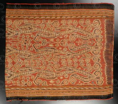 Jupe bidang iban ID31. Tribu dayak iban, Sarawak ou Kalimantan de l'ouest, Indonésie. Début 20ème siècle.
