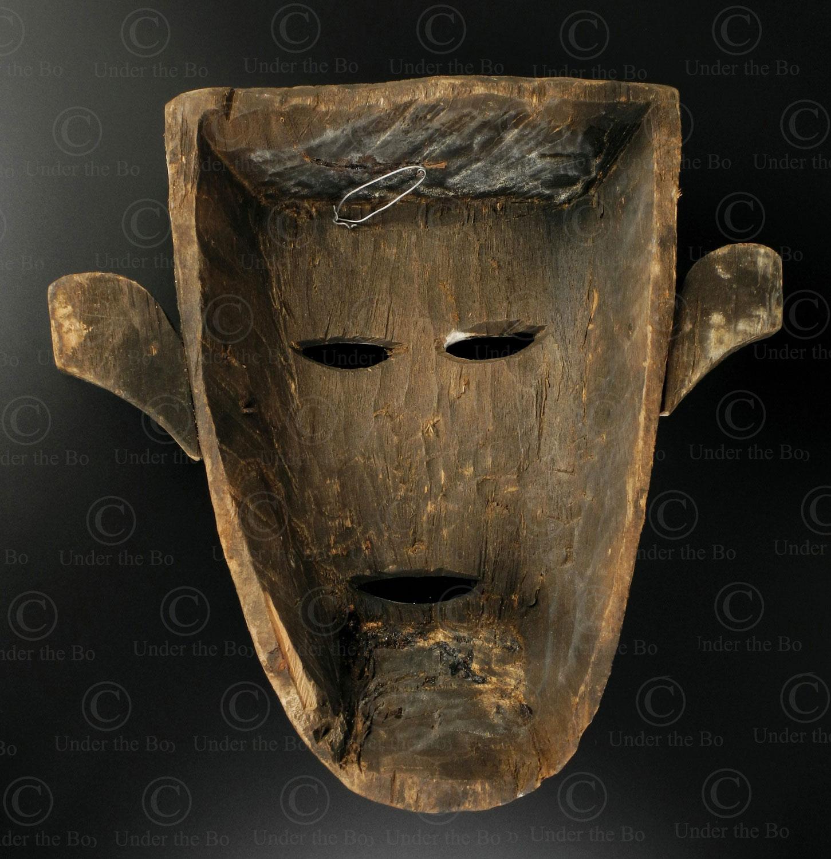 Bidayuh Hunter Mask Bo256 Bidayuh Dayak Culture Sarawak Borneo Island Under The Bo