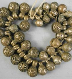 Bronze jingle bells BU553. Chin minority, Western Burma Hills.