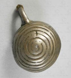 Burma tribal bronze bell BU566. Chin minority, Western Burma Hills.
