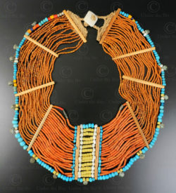 Nagaland necklace NA218. Konyak Naga sub-group, Wakching village, Nagaland, Eastern India.
