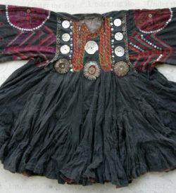 Robe jumlo Kohistan KO92C. Région tribale, Kohistan, Pakistan.