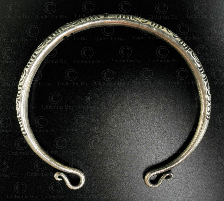 Hmong silver bracelet B239