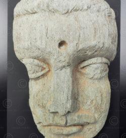 Gandhara Buddha face PK240. Ancient Buddhist kingdom of Gandhara. Found in the valley of Swat, Northern Pakistan.