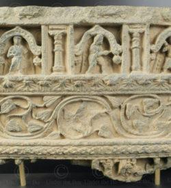 Gandhara schist frieze PK238. Ancient Buddhist kingdom of Gandhara. Found in the valley of Swat, Northern Pakistan.