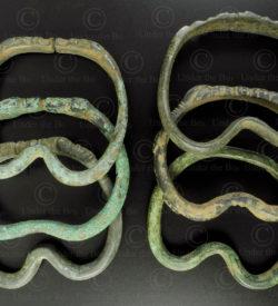 Kushan bronze rings PK211. Found in the Gilgit region of Northern Pakistan.
