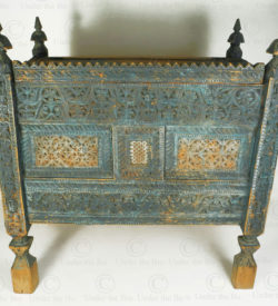 Swat antique grand chest 17F35. Madyan town, Mid-Swat valley, Northern Pakistan.