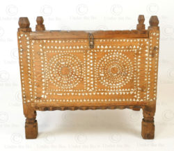 Waziristan antique chest FC107. Waziristan region, North-Western Pakistan.