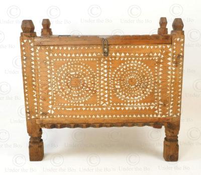 Waziristan antique chest FC107. Waziristan region, North-Western Pakistan.