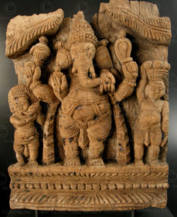 Ganesh panel 08LN12. Tamil Nadu state, Southern India.