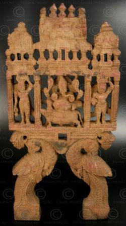 Panneau Ganesh de kavadi 08KK4B. État du Tamil Nadu, Inde du sud.